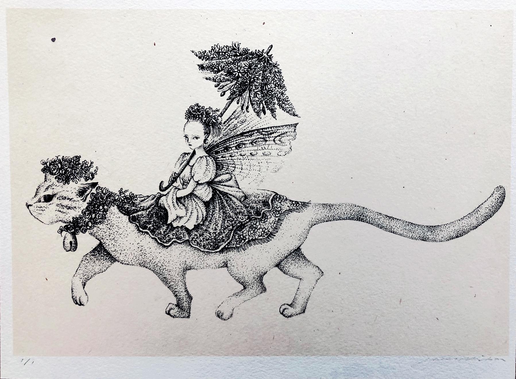 「Fairy Princess Ⅰ」2017 w350×h260mm Lithograph